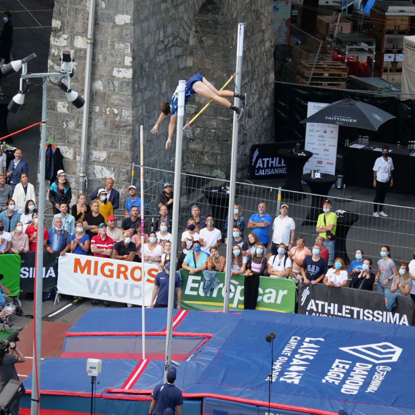 2 septembre : Migros Vaud soutient «Athletissima in the city»